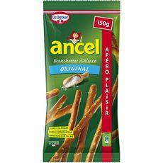 ANCEL Branchettes d'Alsace bretzels biscuits salés en stick original 150g