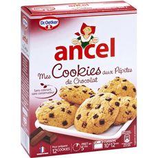 Ancel préparation pour cookies aux pépites de chocolat 300g