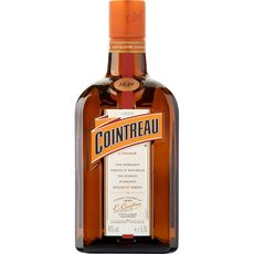 Cointreau Liqueur triple sec à base d'écorces d'orange 40% 70cl