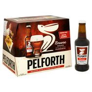Pelforth Brune bière brune du Nord 6,5° -12x25cl