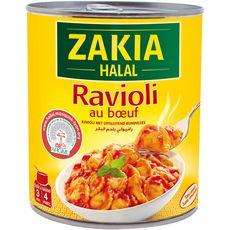 Zakia Ravioli au bœuf halal 800g
