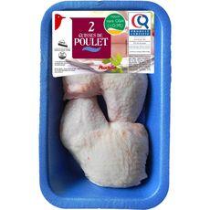 Auchan cuisse de poulet blanc x2 - 550g
