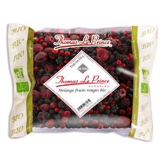 Thomas le Prince fruits rouges bio 420g