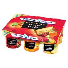 Mamie Nova gourmand fruits panachés 6x150g