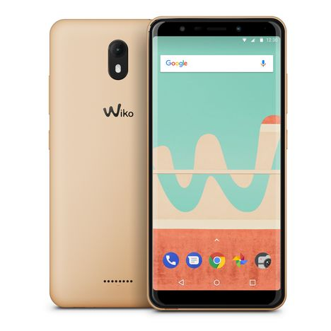WIKO Smartphone View Go - 16 Go - 5.7 pouces - Or