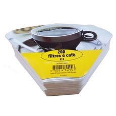 Filtres à café n°4 x200