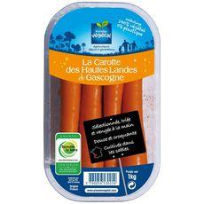 Carottes des hautes landes de Gascogne 1kg 1kg