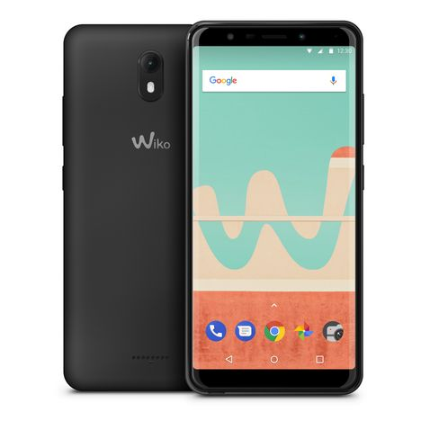 WIKO Smartphone View Go - 16 Go - 5.7 pouces - Anthracite