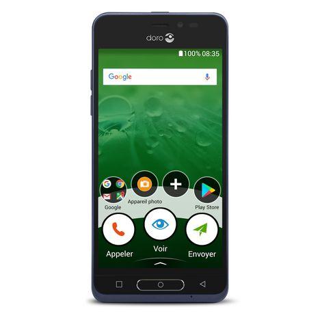 DORO Smartphone 8035 - Bleu
