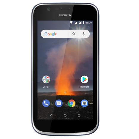 NOKIA Smartphone - Nokia 1 - 8 Go - 4,5 pouces - Bleu Foncé