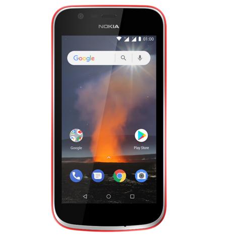 NOKIA Smartphone - Nokia 1 - 8 Go - 4,5 pouces - Rouge