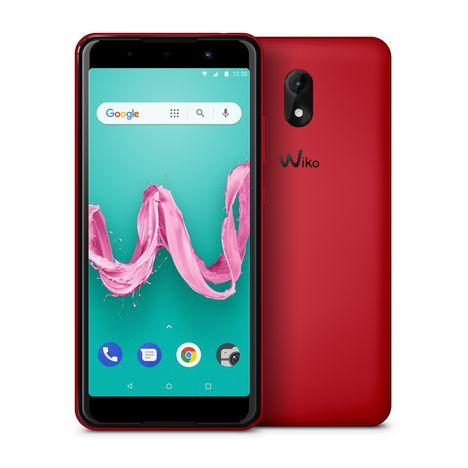 WIKO Smartphone Lenny 5 - Rouge - Ecran 5.7 pouces