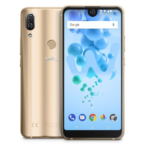 WIKO Smartphone View 2 Pro - 64 Go - 6 pouces - Or