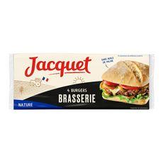 Jacquet burger brasserie x4 -330g