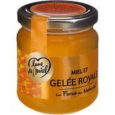 Lune de Miel miel et gelée royale 250g