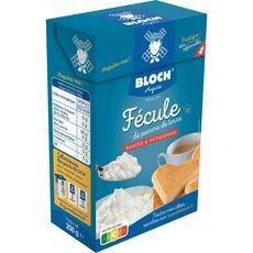 BLOCH Bloch Fécule de pomme de terre pour sauces et pâtisseries 250g 250g