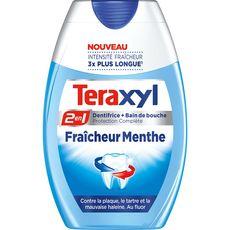 TERAXYL Dentifrice et bain de bouche fraîcheur menthe 75ml