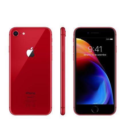 APPLE Iphone 8 - 64 Go - 4,7 pouces - Rouge (Edition Spéciale)