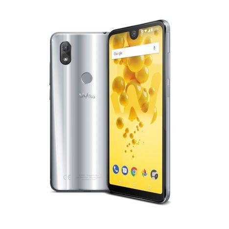 WIKO Smartphone View 2 - 32 Go - Gris - Ecran 6 pouces - Gris