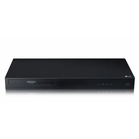 LG Lecteur DVD Blu-ray UBK80 Noir - Ultra HD 4K