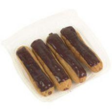 Éclairs au chocolat x4
