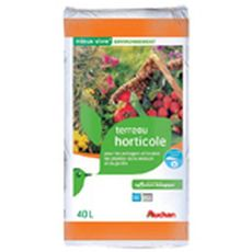 Auchan Terreau horticole 40l