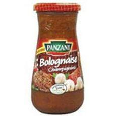 PANZANI Panzani Sauce bolognaise aux champignons, en bocal 400g 400g