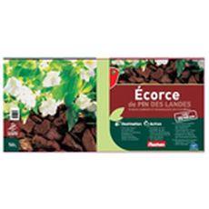 Auchan Ecorce de pin des landes 20/40 50l