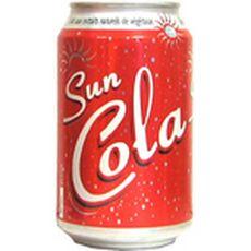 SUN Cola soda aux extraits végétaux boîte 33cl