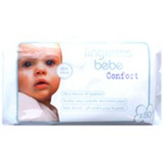 BEBE CONFORT Bébé confort Recharge lingettes confort pour bébé à l'aloé vera x80 80 lingettes