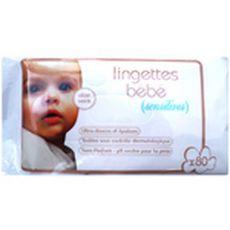Bébé confort Recharge lingettes sensitive pour bébé à l'aloé vera x80