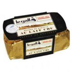 Legall beurre au lait cru demi sel 250g