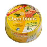 Les Mouettes d'Arvor thon blanc au naturel et citron 160g
