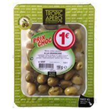 Tropic olives vertes 150g