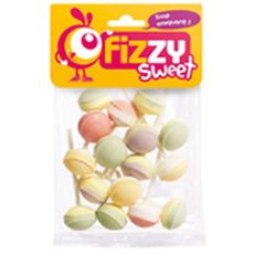 Fizzy Sweet sucettes lolita 130g