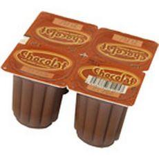 DISCOUNT Flan au chocolat 4x100g