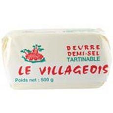 LE VILLAGEOIS Le Villageois Beurre demi-sel 500g 500g