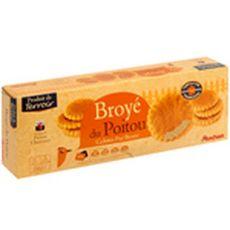 Auchan Terroir galettes pur beurre broyé du Poitou 280g