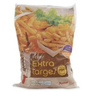 Auchan frites extra large 1kg