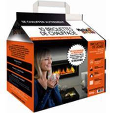 Briquettes de chauffage en lignite x10 10kg