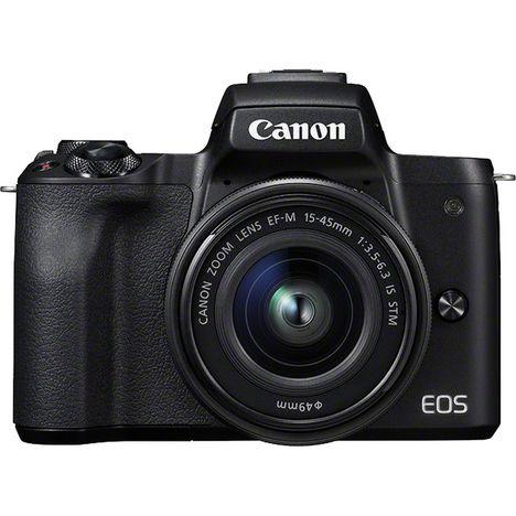 CANON Appareil Photo Hybride - EOS M50 - Noir + Objectif 15-45 mm