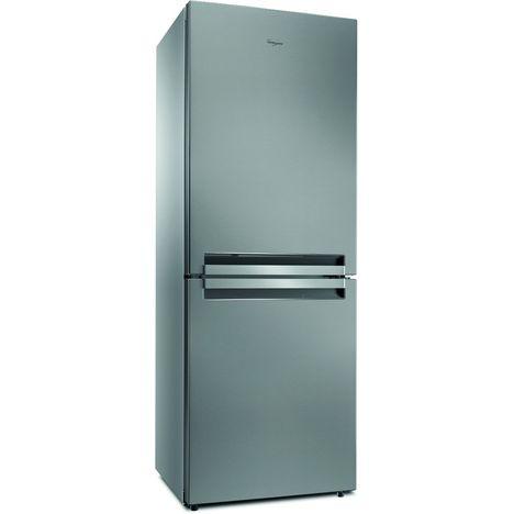 WHIRLPOOL Réfrigérateur combiné BTNF5012 OX, 450 L, Froid Ventilé