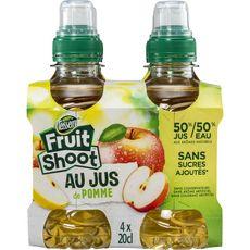 Teisseire Fruit Shoot jus de pomme 4x20cl