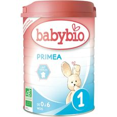 BABYBIO Primea lait 1er âge en poudre bio dès la naissance 900g