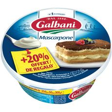 GALBANI Galbani mascarpone 250g +20% offert