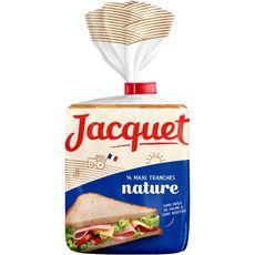 Jacquet Maxi Jac' pain de mie nature 550g
