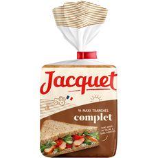 Jacquet Maxi Jac' pain de mie complet 550g