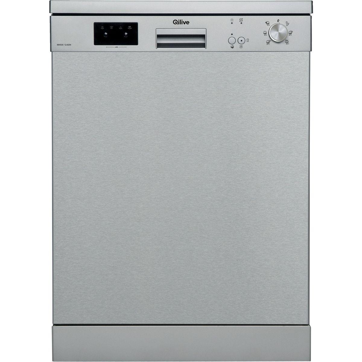 Lave-vaisselle pose libre FNTX1ES1AL52215, 12 couverts, 60 cm, 45 dB, 6 Programmes