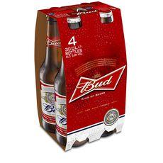Bud bière 5° -4x30cl