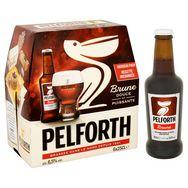 Pelforth Brune bière brune du Nord 6,5° -6x25cl